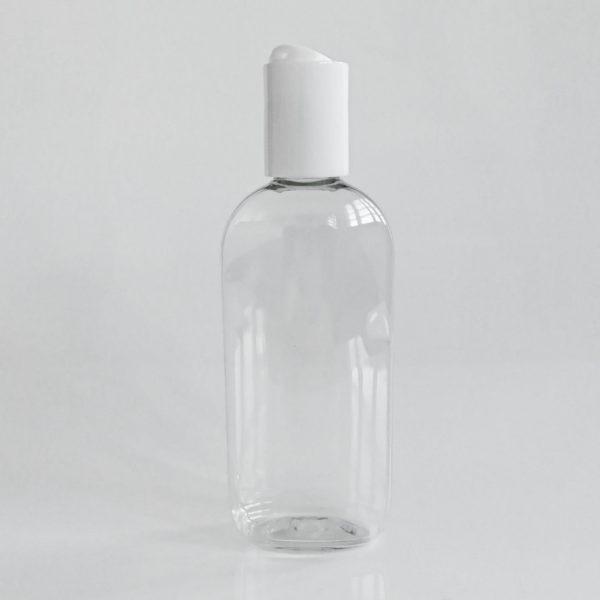 100ml tyhjä muovipullo keinukorkilla