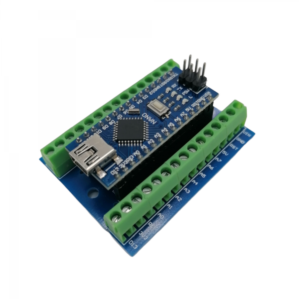 Arduino nano + screwshield