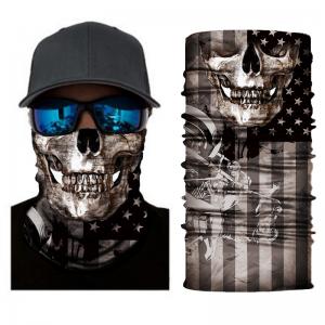 amerikan lippu + pääkallo kuvioitu tuubihuivi, pako group verkkokauppa