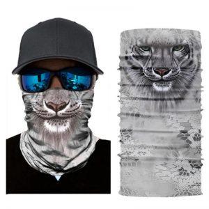tiikeri hopea tuubihuivi, pako group verkkokauppa, asuste, laskettelu, pyöräily
