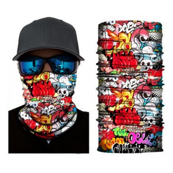 graffiti tuubihuivi, pako group verkkokauppa tuote