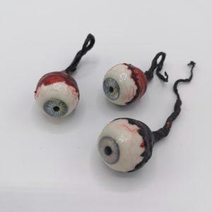lasiset irtosilmät joissa roikkuu silikooninen näköhermo, pako store verkkokauppa