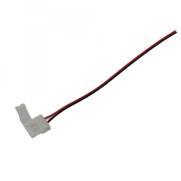 LED-nauha liitin (jatkoliitin) 10mm 2-napainen, pako store verkkokauppa lahti