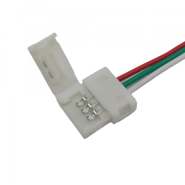 LED-nauha liitin (jatkoliitin) 10mm 3-napainen, pako store verkkokauppa lahti