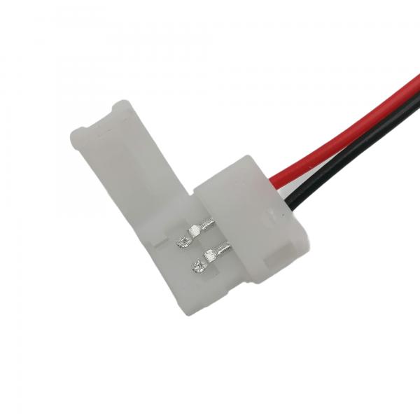 LED-nauha liitin (jatkoliitin) 8mm 2-napainen, pako store verkkokauppa lahti