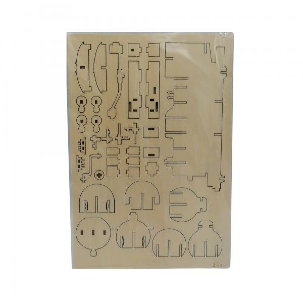 veturi, puinen kasattava 3D palapeli pakkaus, pako store -verkkokauppa lahti
